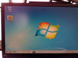 ノートンインストール後のデスクトップ画面