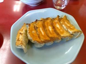 みんみんの焼き餃子