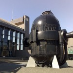 川崎市市民ミュージアムの外