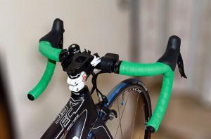 自転車の新しいハンドル