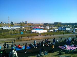 板橋Cityマラソン会場