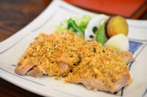 筑波地鶏の香草焼き