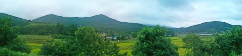 八郷の山並み