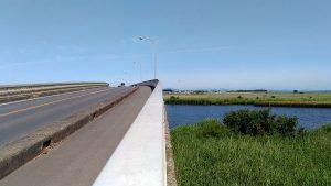 稲敷大橋と浮島