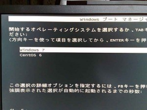 Windowsブートマネージャ画面