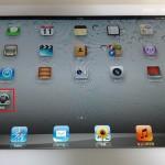 iPadのデスクトップ