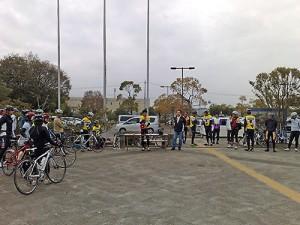 霞ヶ浦一周サイクリング大会