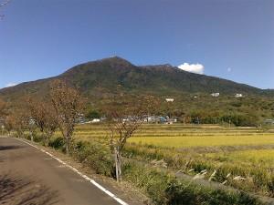 りんりんロードから筑波山