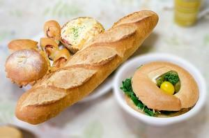 蔵日和のパン