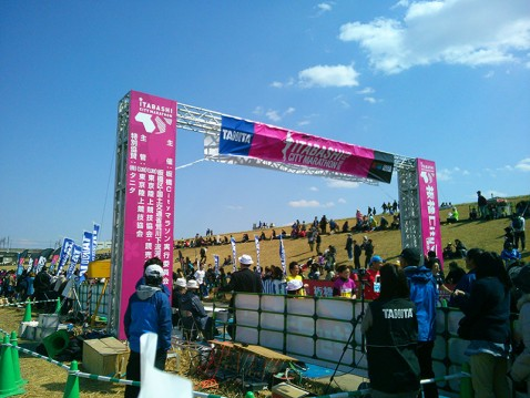 板橋Cityマラソンのゴール
