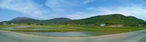 筑波山と周辺の里山