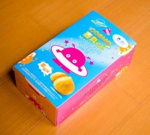 コスモ星丸のお菓子の箱