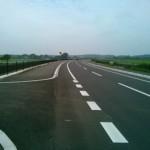 つくば市春風台と土浦市田土部の間の新しい道路